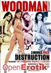 Anal Destruction - 3 Movies Pack (Woodman Entertainment)